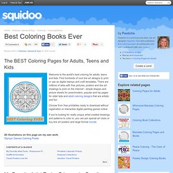 Best Coloring Ever-Coloring Pages for Adults and Children
