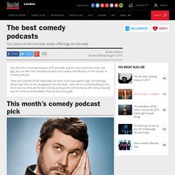 The best comedy podcasts – free podcasts – Time Out Comedy – Time Out London