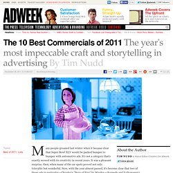 The 10 Best Commercials of 2011