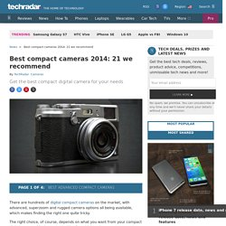 Best compact cameras 2014: 21 we recommend