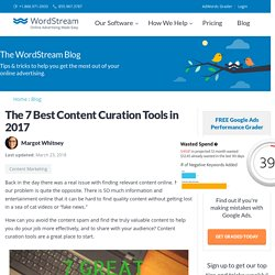 The 7 Best Content Curation Tools in 2017