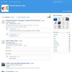Best content in TPE BTS FEE 2011-2012