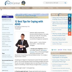 12 Best Tips for Coping with ADHD