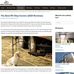 The 25 Best RV Step Covers of 2020 - Vogel Talks RVing