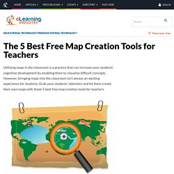 The 5 Best Free Map Creation Tools for Teachers