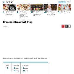 Best Crescent Breakfast Ring Recipe - How to Make Crescent Breakfast Ring