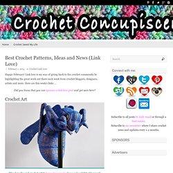 Best Crochet Patterns, Ideas and News (Link Love)