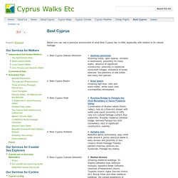 Best Cyprus - Cyprus Walks Etc