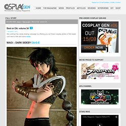 Best on DA: volume 34 « Cosplay Gen