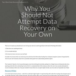 Top 5 Best Data Recovery Software in 2021