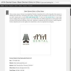 AYA Dental Care: Best Dental Clinic in Ohio