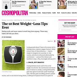 10 Best Diet Tips - Tips to Lose Weight