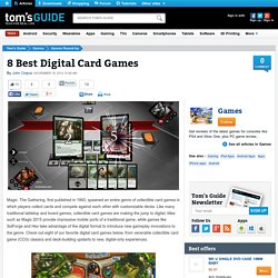 8 Best Digital Card Games - iOS and Android Apps