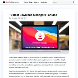 10 Best Download Managers For Mac