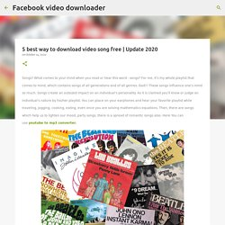 5 best way to download video song free