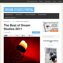 The Best of Dream Studies 2011