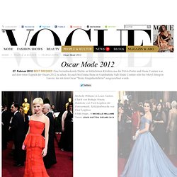Best Dressed: Oscar Mode 2012