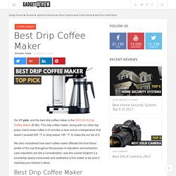 Dr. Drip Coffee Brewer Review