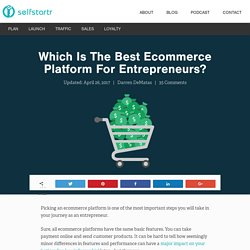 Best Ecommerce Platform For 2016