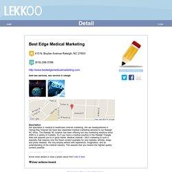 Healthcare Marketing Agency - Best Edge Medical Marketing