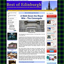 Best of Edinburgh *Royal Mile