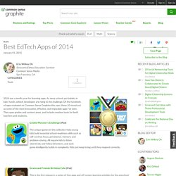 Best EdTech Apps of 2014