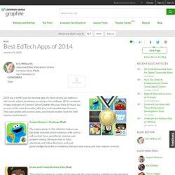 Best EdTech Apps of 2014