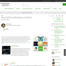 Best EdTech Websites of 2014