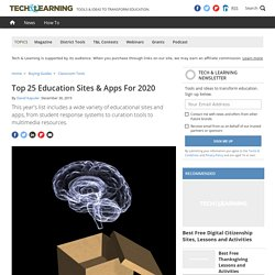 25 Best Education Sites & Apps For 2020