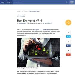 Best Encrypted VPN — VPN Creative
