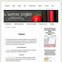 The Best English Teacher Resources