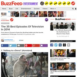 The 35 Best Episodes Of Television In 2014