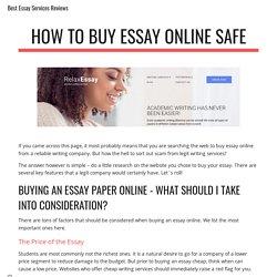 Best Essay Services Reviews