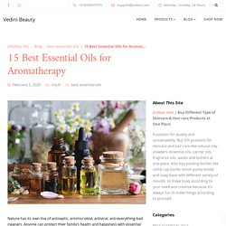 Best Essential Oils For Skincare & Hair care