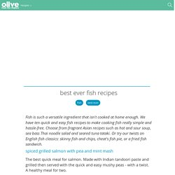 Best ever fish recipes