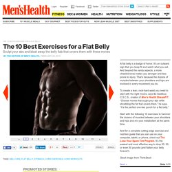The 10 Best Exercises for a Flat Belly