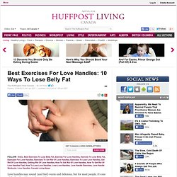 Best Exercises For Love Handles: 10 Ways To Lose Belly Fat
