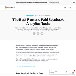The Best Free and Paid Facebook Analytics Tools