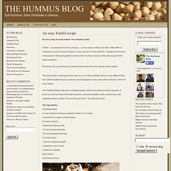 Best Falafel Recipe EVER • The Hummus Blog