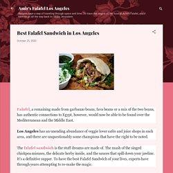 Best Falafel Sandwich in Los Angeles