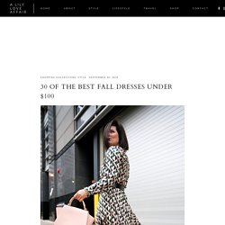 30 OF THE BEST FALL DRESSES UNDER $100