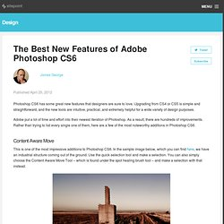 The Best New Features of Adobe Photoshop CS6