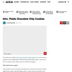 Best Mrs. Fields Cookie Recipe - How To Make Mrs. Fields Cookie