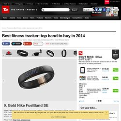Best fitness tracker: top band to buy in 2014
