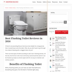 Best Flushing Toilet Reviews in 2016