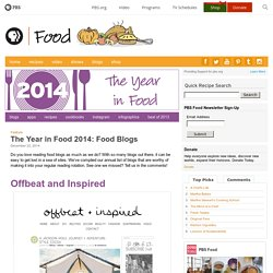 Best Food Blogs of 2014