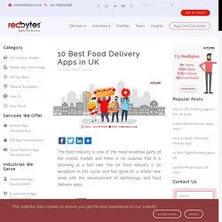 10 Best Food Delivery Apps UK [2019]