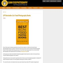 Best Food Photography Books