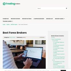 Best Forex Brokers 2020 - TradingBrokers.com