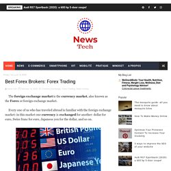 Best Forex Brokers: Forex Trading - News Tech